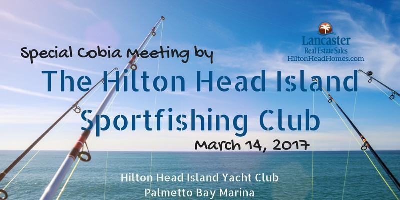 special cobia meeting by the Hilton Head Island Sportfishing Club