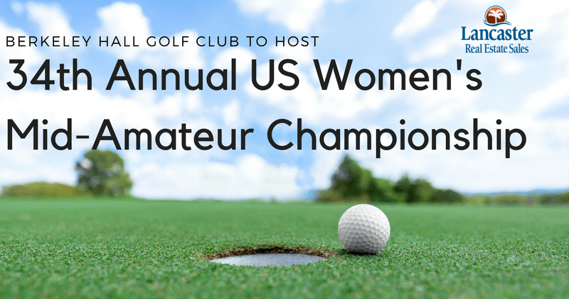 berkeley hall golf club to host 34th annual US women's mid-amateur championship