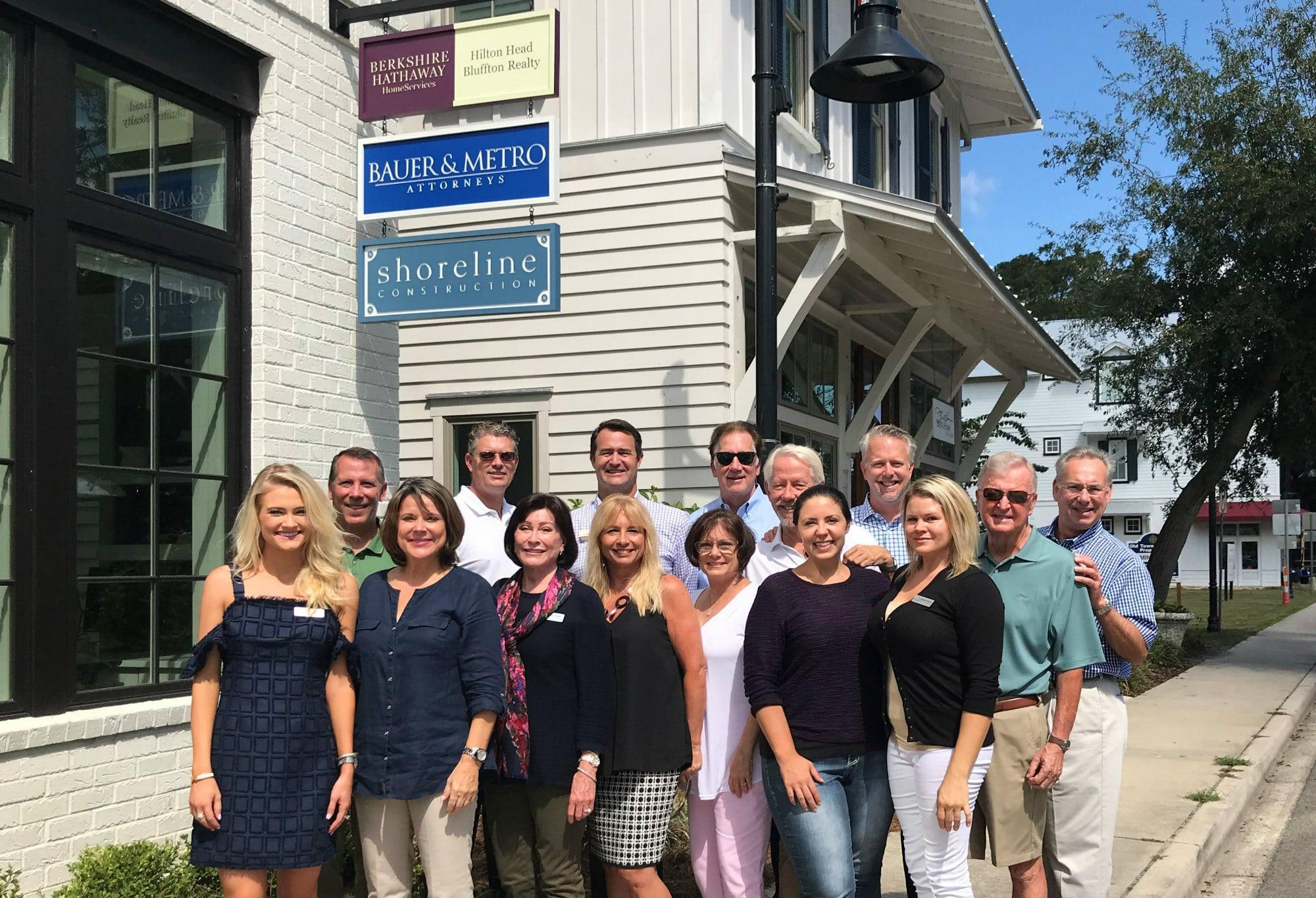 berkshire hathaway homeservices hilton head bluffton realty - bluffton office team