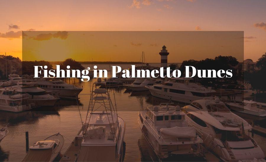 Fishing in Palmetto Dune Hilton Head Island