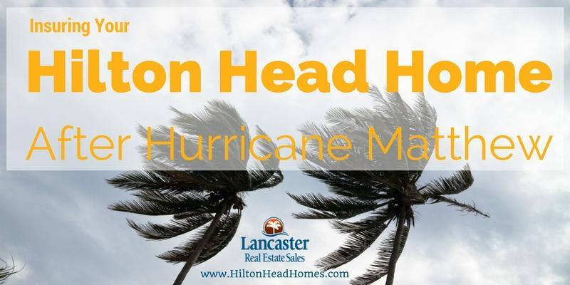 insuring your hilton head home after hurricane matthew