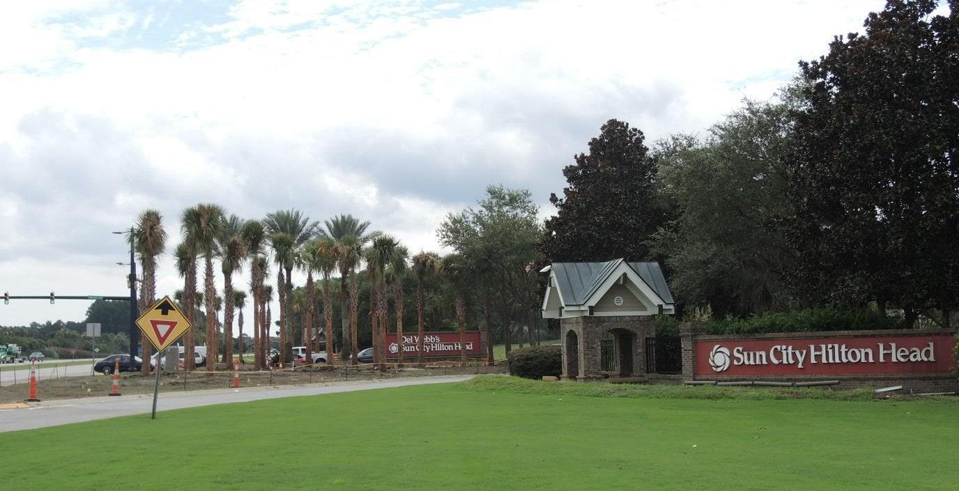 Sun City Hilton Head, SC Entry