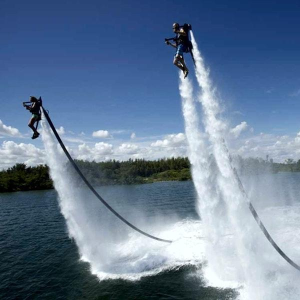 water jet pack, near Moss Creek, SC