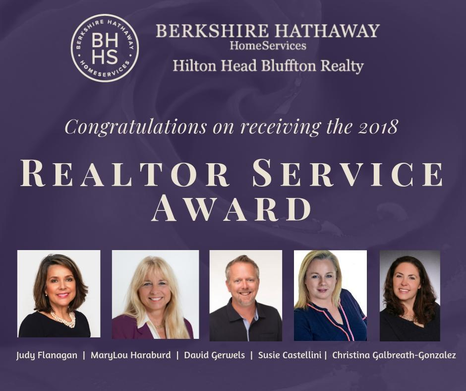 Realtor Service Awards 2018